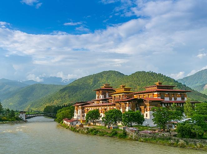 punakha dzong bhutan shbt6
