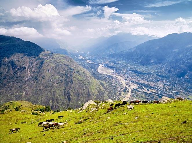 Naggar Town In Himachal Pradesh