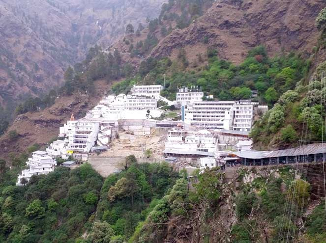 Holy Vaishnodevi temple