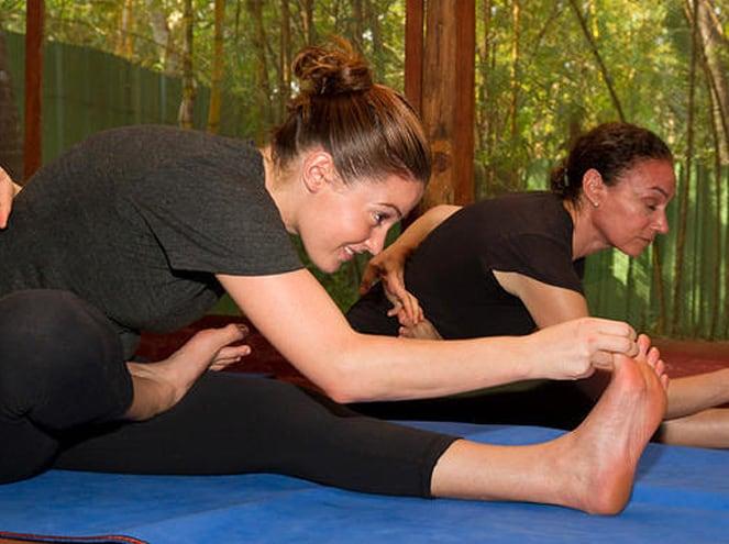 Exercise Session at Marari