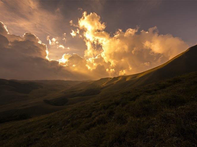 Sunset Kerala view