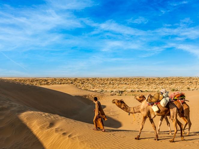 camel ride jaisalmer
