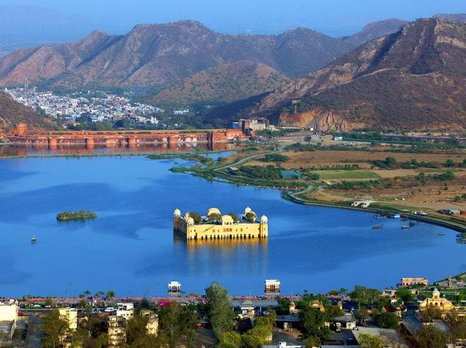 Rajasthan Aerial View