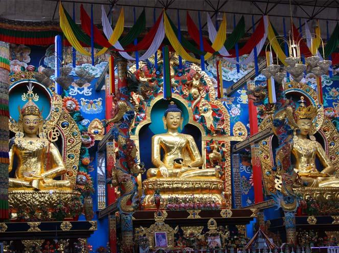 Namdroling Monastery in Mysore
