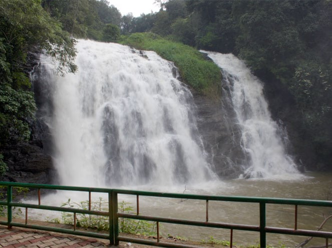 Abbey Falls in Madkeri (Mysore)
