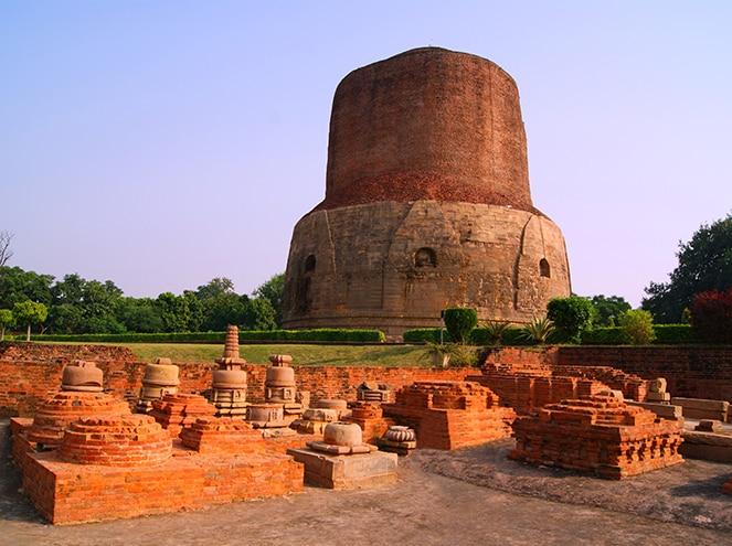 dhamek stupa allahabad