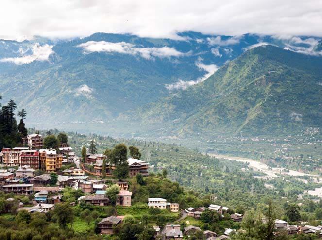 Bhutan Aerial View