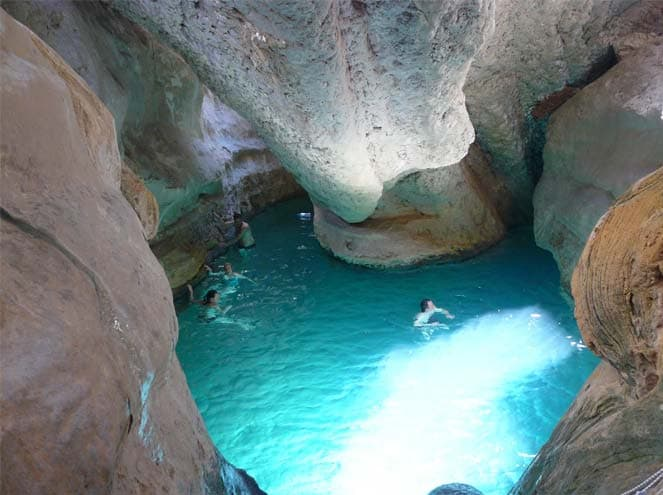 Swim in the Wadi Bin Khalid