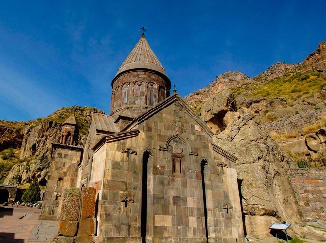 Geghard Monastery Yerevan Armenia