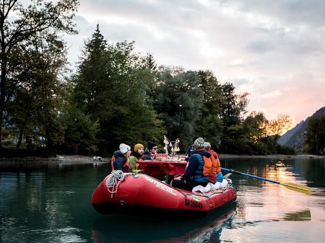 Raclette Rafting