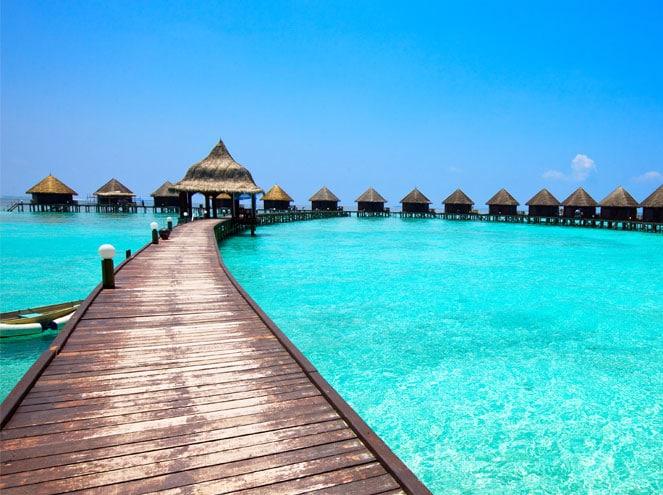 Paradise Island Beach Bungalow & Water Villa Exp 3