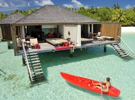 Paradise Island Beach Bungalow & Water Villa (SHML4) Tour Package