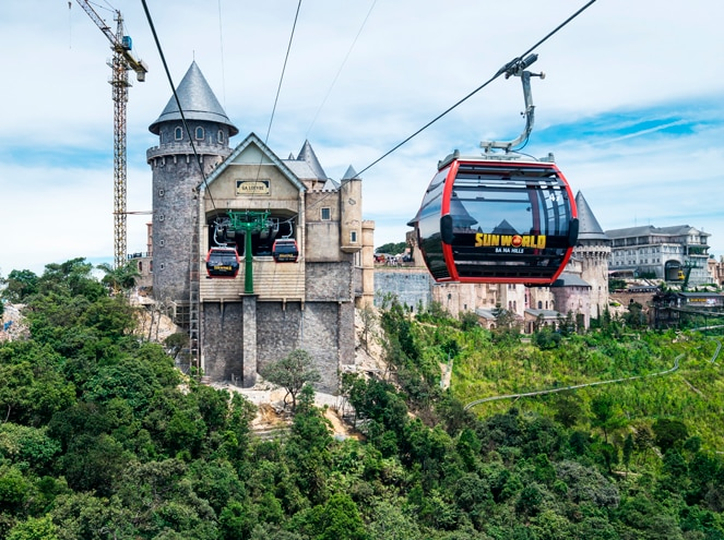ba na hills cable car vietnam