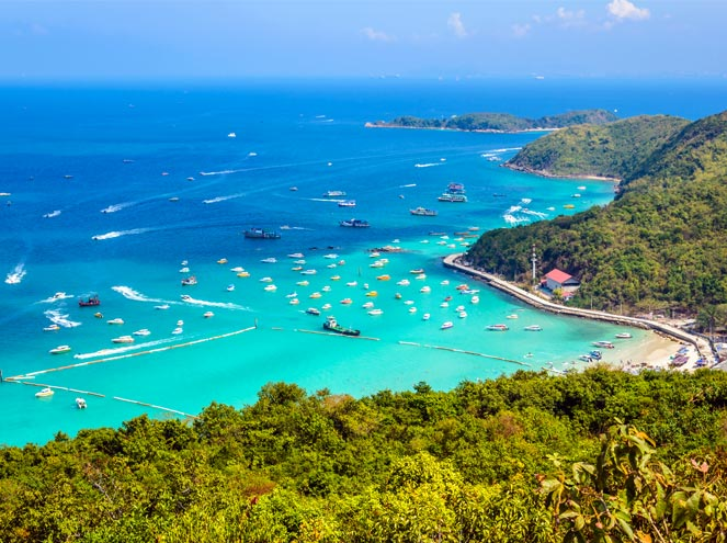 Krabi with the 4 Islands tour