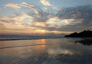 Andaman Island, Beautiful Sun Set