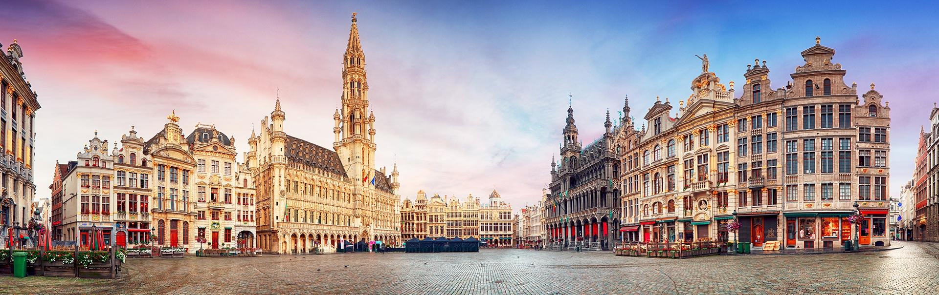 Amsterdam Brussels Bruges (EUCA) Banner