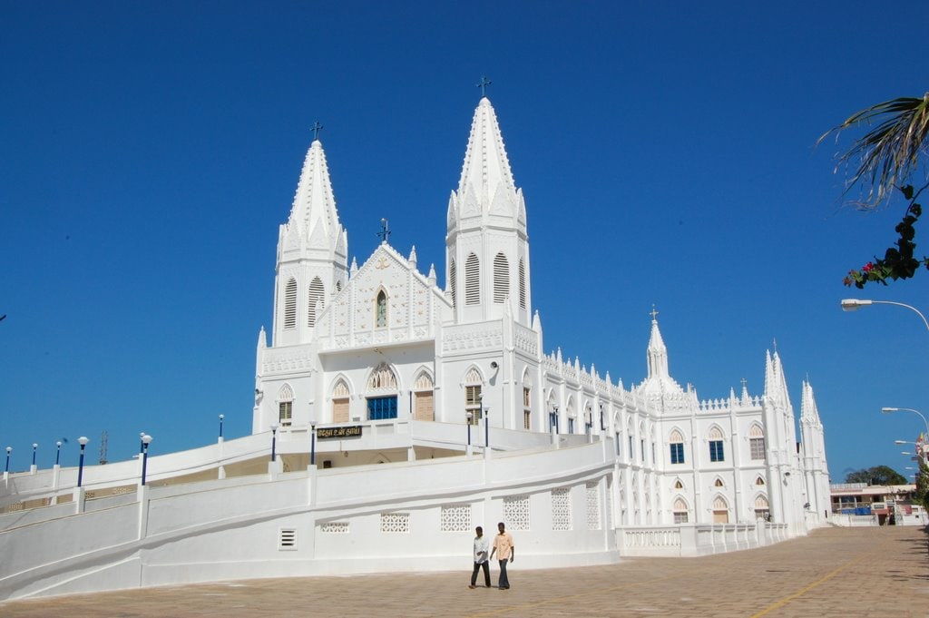 Velankanni Church Tamil Nadu