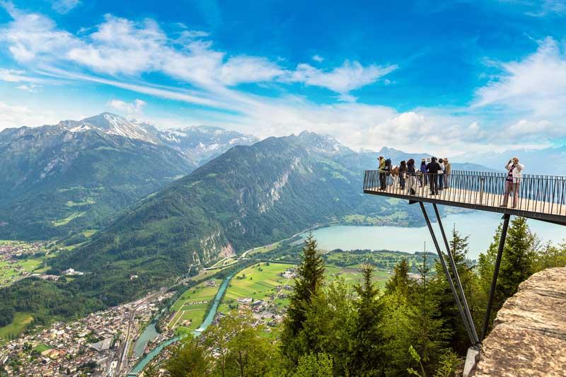 Two Lakes Bridge Interlaken