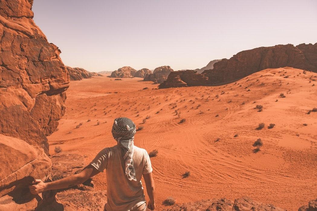 Desert Landscapes Dominate The Middle East