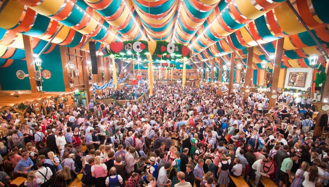 Tent At Oktoberfest