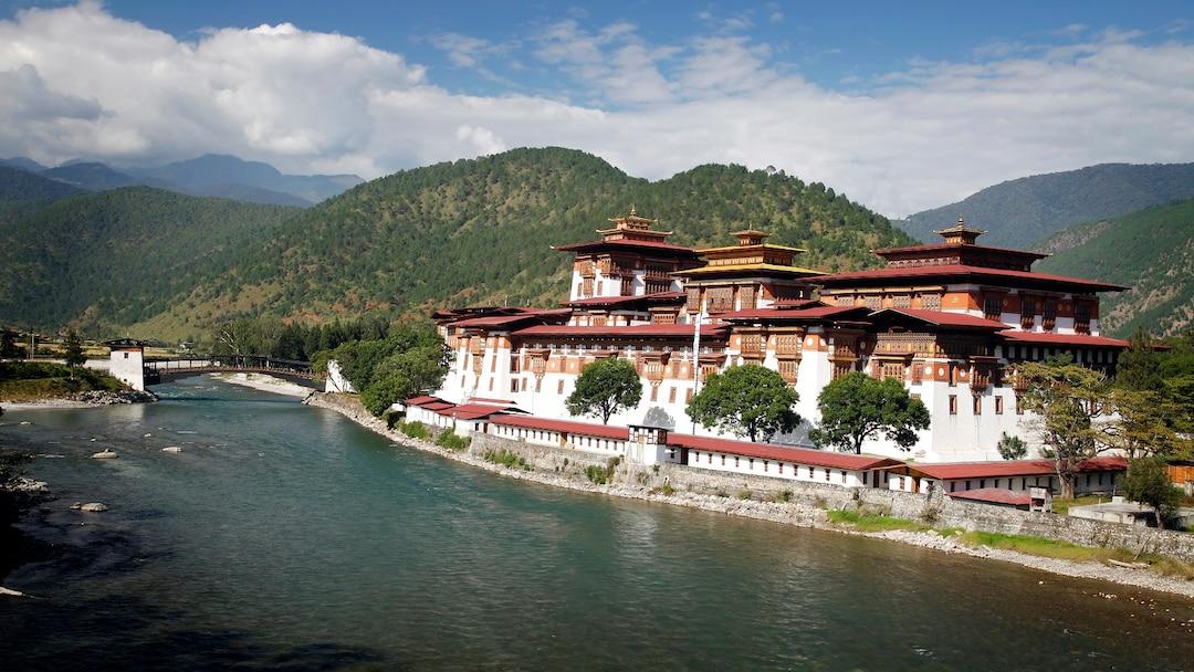 Visit The Palace of Great HappinessPungtang Dewa Chhenbi Phodrang