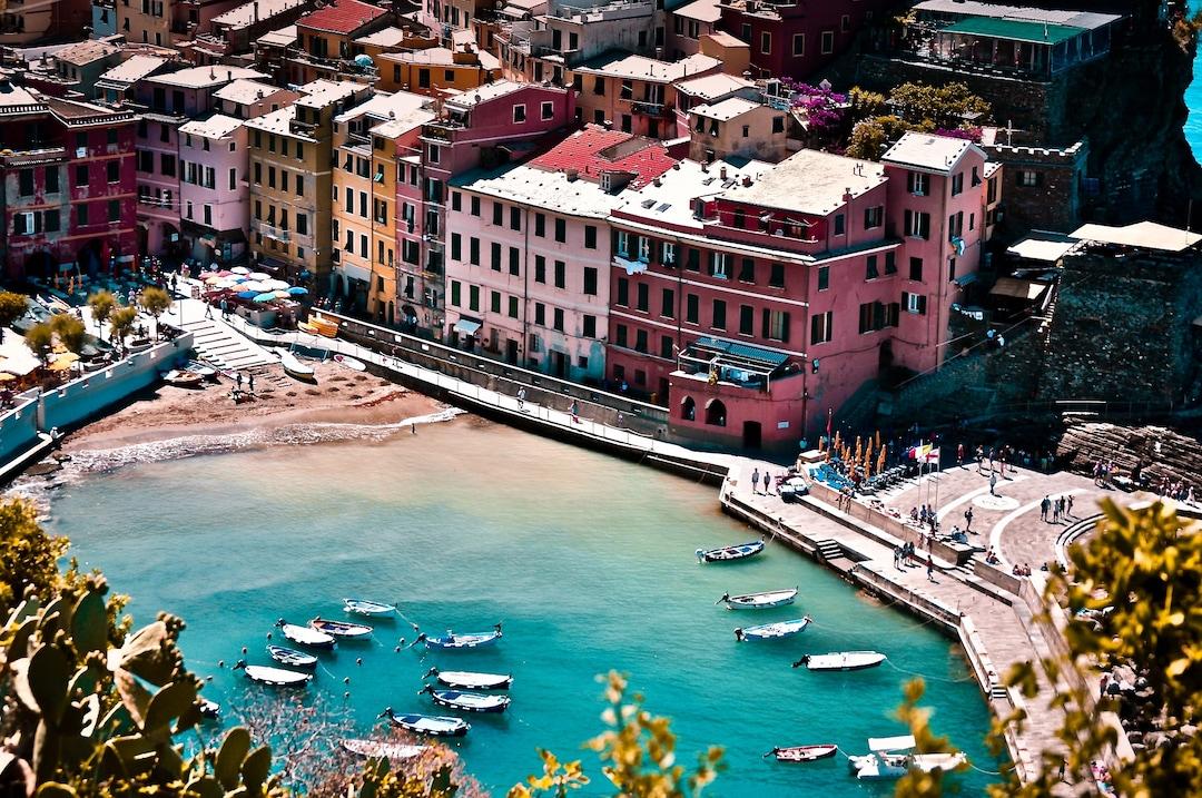 The glimpses of Italian Riviera
