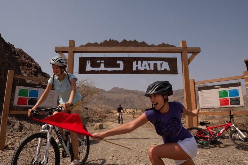 JA Hatta Fort Hotel Mountain Bike Start
