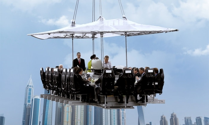 Dinner in the Sky, Dubai