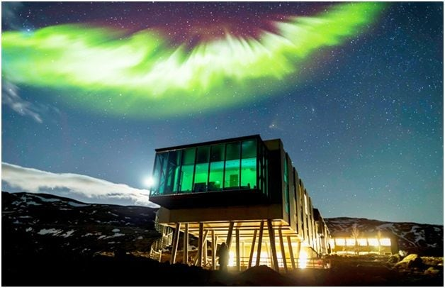 Northern Lights Bar, Iceland