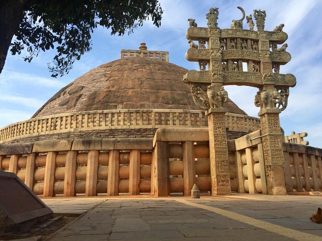 The Great Stupa of Sanchi