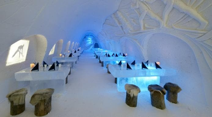 Snowcastle Restaurant, Finland