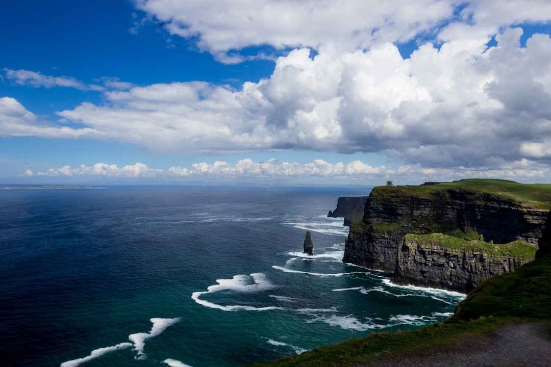 Visiting the Cliff of Moher