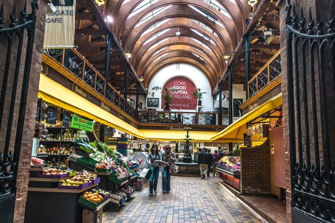 Shopping at the Famous English Market