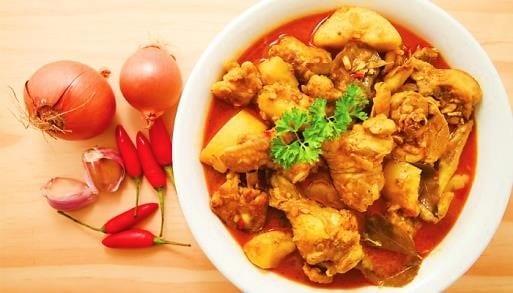 Chicken Kapitan At The Famous Chulia Street