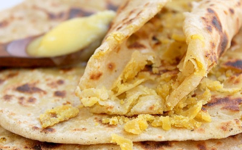 The Yellow Flatbread - Puran Poli