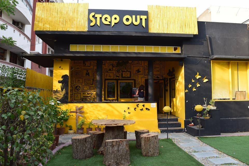 Sunshine and rejuvenation at the StepOut Café