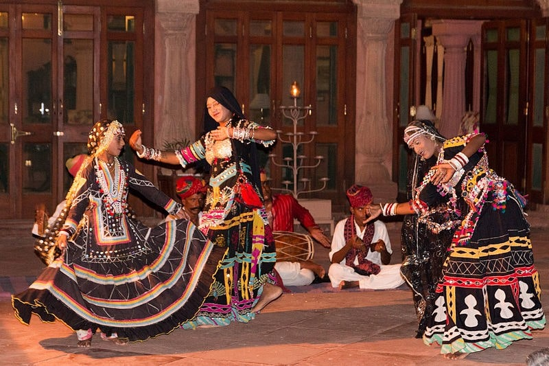 Folk songs and dance performances light it up!