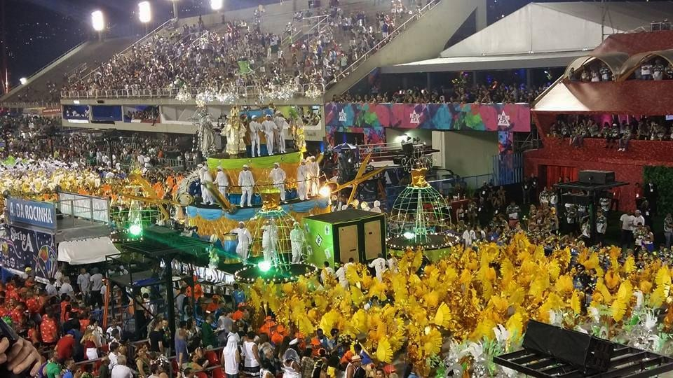 Parades at the Sambódromo