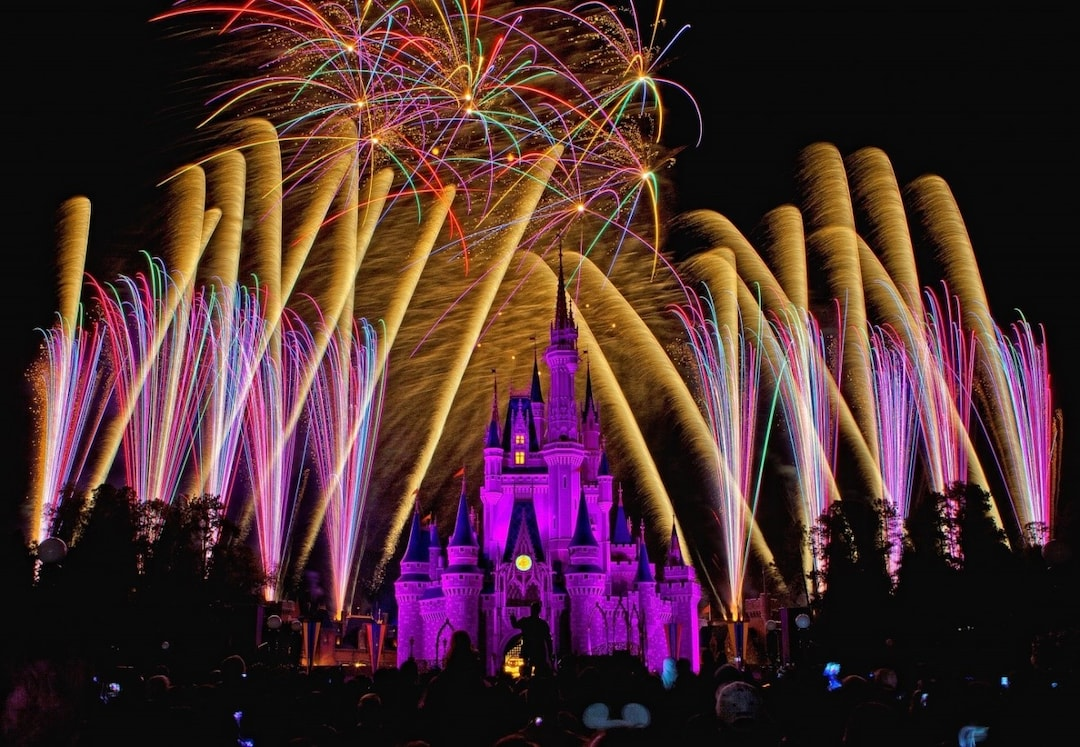 "Watch ""Disney in the Stars"" Fireworks"