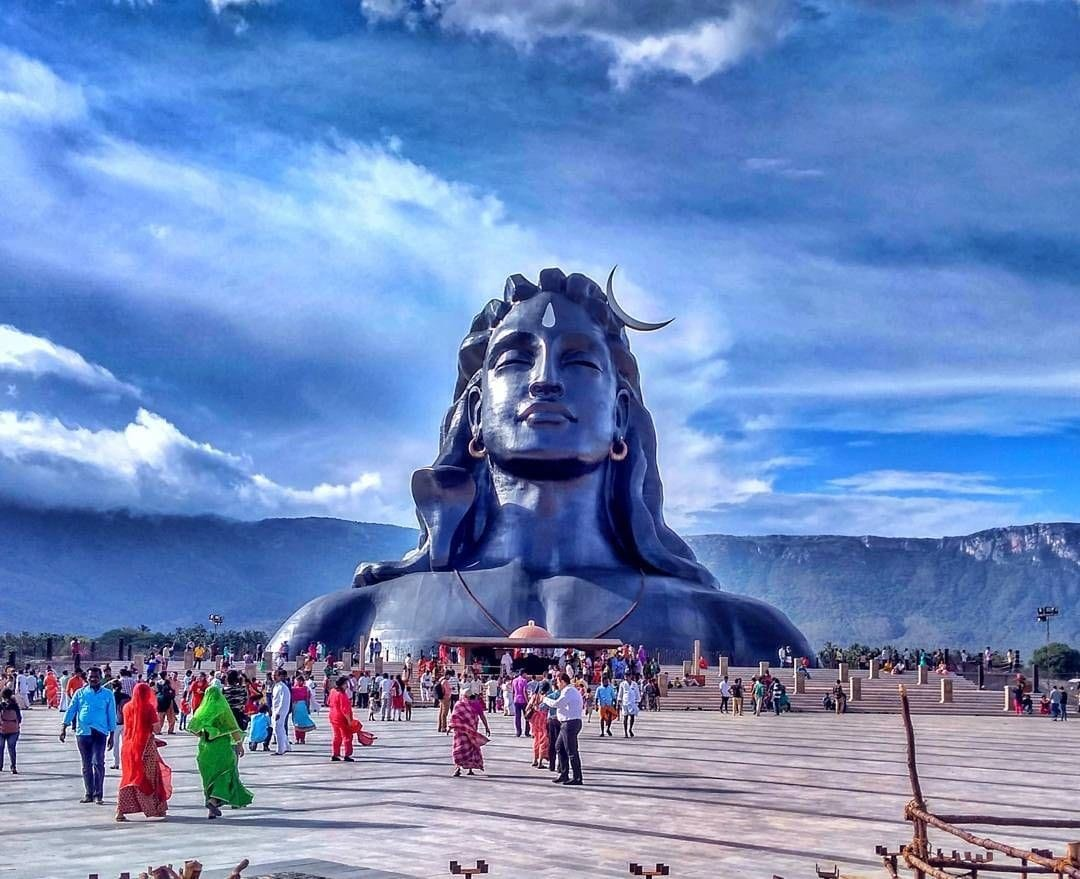 112 Feet Adiyogi - Coimbatore, Tamil Nadu