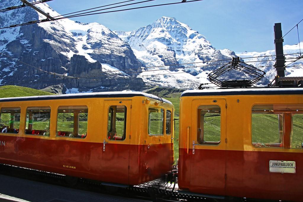 Jungfraujoch Railway Journey
