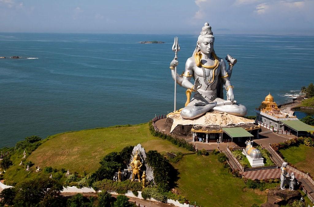 Statue of Lord Shiva, Murudeshwar, Karnataka