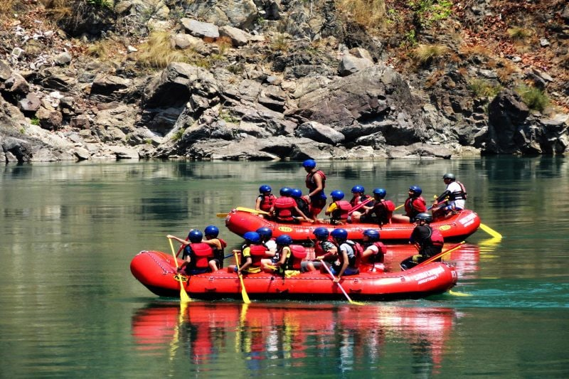 Best Places To Go River Rafting Kayaking In India