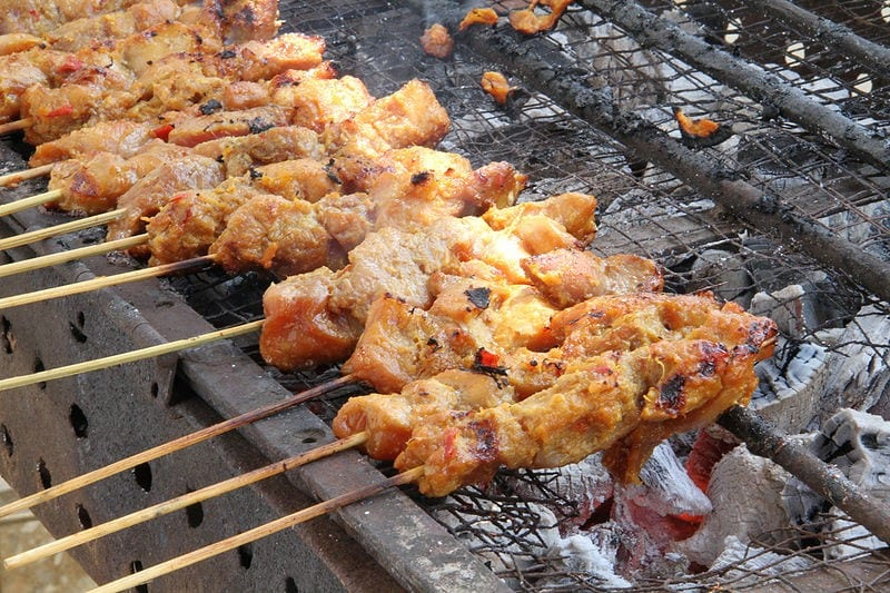 Treat Your Palate with Moo Ping or Satay