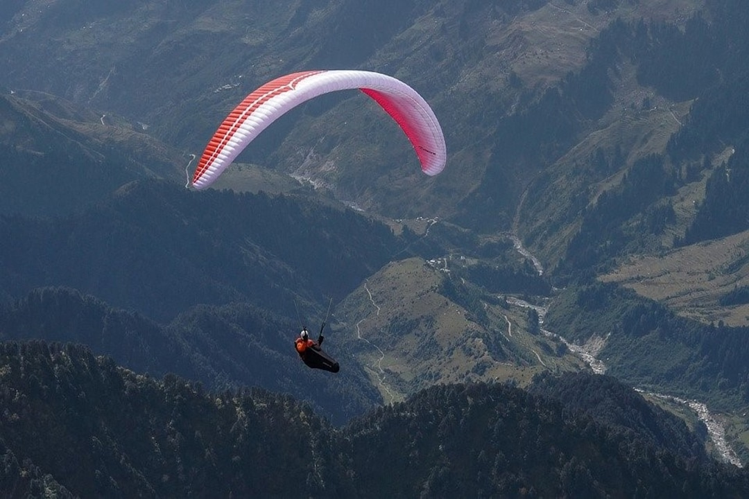 Best Places To Do Paragliding In India