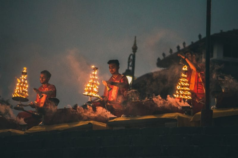 Ganga Aarti Varanasi A Visual Treat At The Banks Of River Ganga