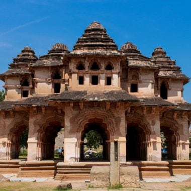 Lotus Mahal An Architecture Highlight Of Hampi