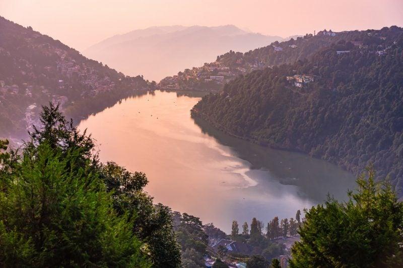 Nainital Lake Revel In The Lap Of Nature