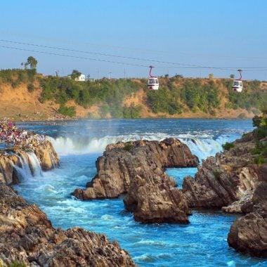 Waterfalls In Jabalpur Taking Closer To Nature